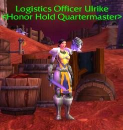 Logistics Officer Ulrike